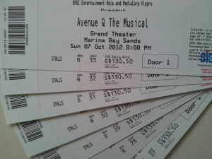 Avenue Q Tickets