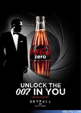 Skyfall 007 and Coke Zero