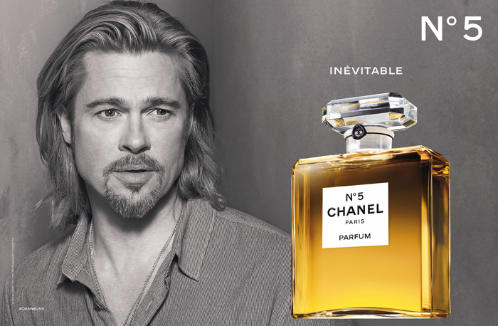 Chanel No 5 And Brad Pitt